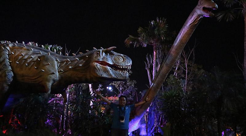 Taman Dinosaurus Malang Night Paradise Arif Harianto Liputan Blogger Kab