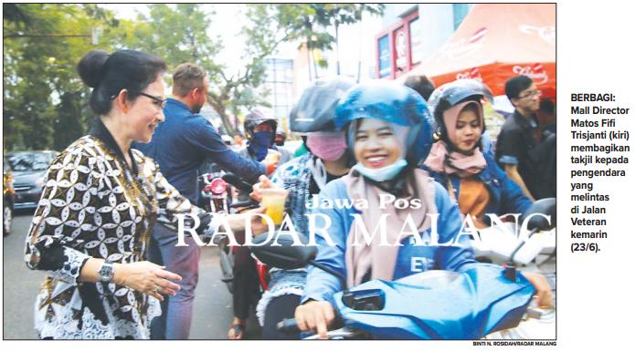 Launching Cinemaxx Matos Pejabat Bagi Takjil Radar Malang Online Kab