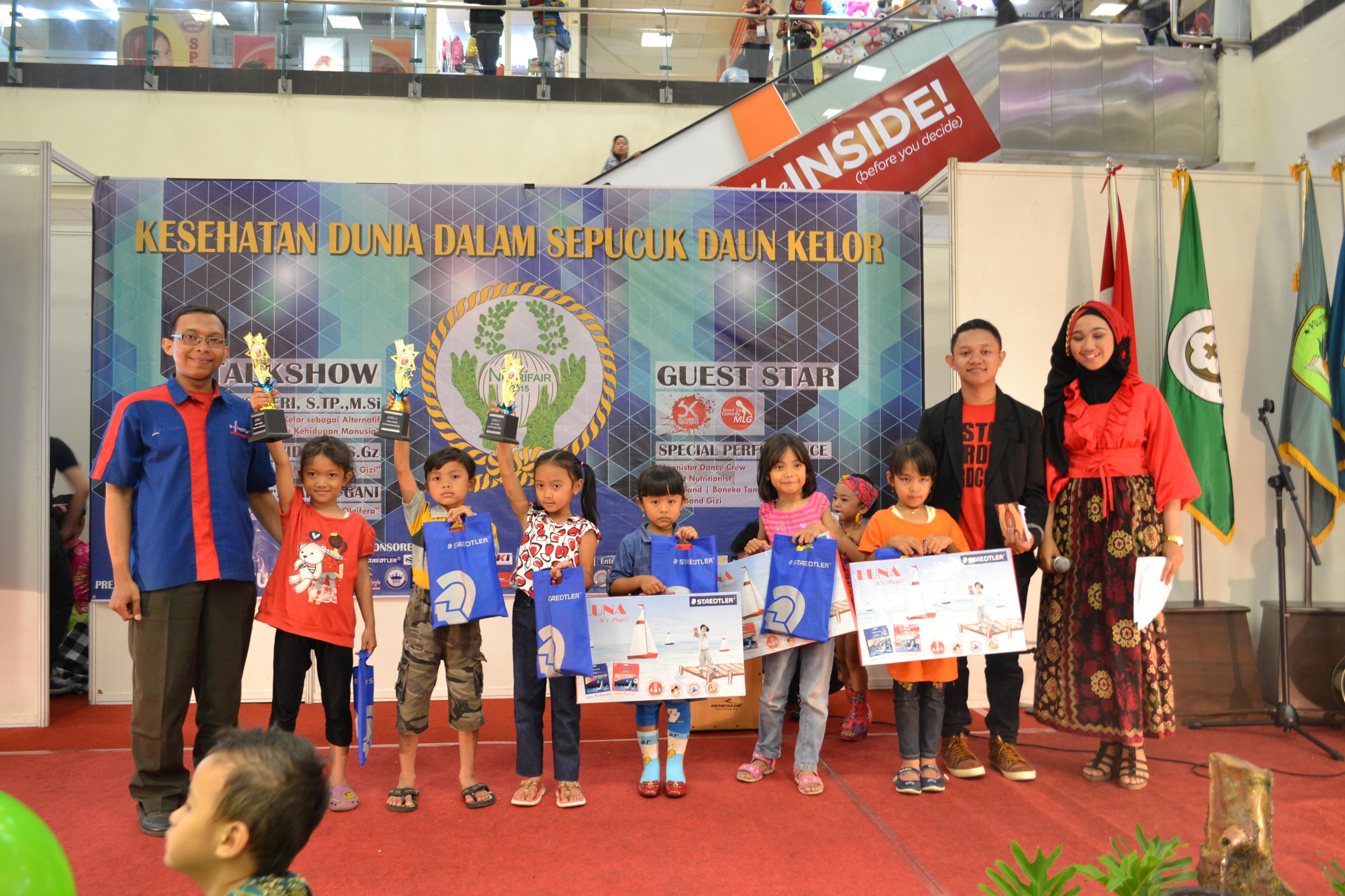 Pameran Gizi Rangka Nutrifair2016 Malang Town Squere Matos Kab