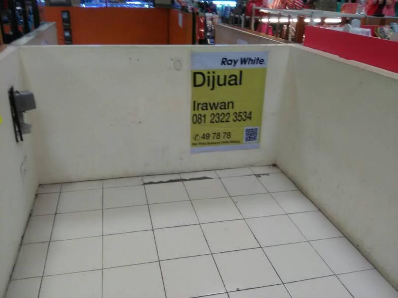 Stan Matos Malang Dijual Strategis Nego Town Square Toko Kota