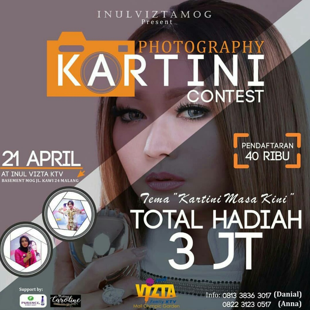 Hari Kartini Inul Vizta Mog Mengadakan Fun Photo Contest 2018