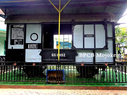 Konservasi Gerbong Koleksi Museum Brawijaya Kota Malang Tampak Sisi Luar