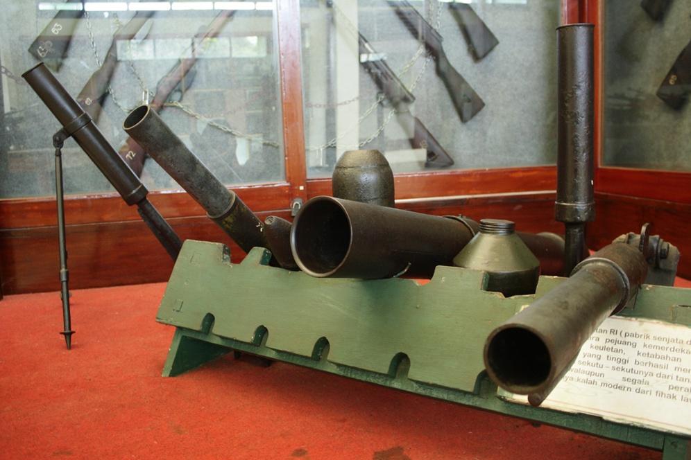Malang Merdeka Menengok Koleksi Senjata Perjuangan Kemerdekaan Museum Brawijaya Kab