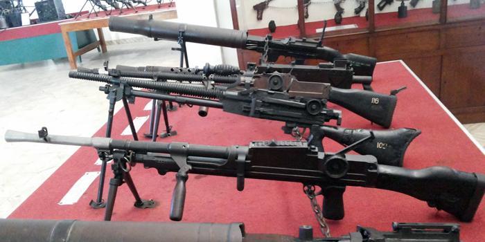 Mengintip Koleksi Senjata Museum Brawijaya Malang Ngalam Kab