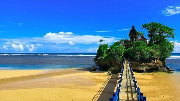 Antara Pantai Balekambang Tanah Lot Ilovemalang Net Kab Malang
