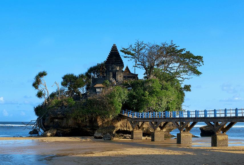 Pantai Balekambang Menggagumkan Pure Tengah Kab Malang