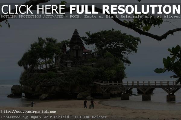 Pantai Balekambang Pura Pasirpantai Jawa Timur Kabupaten Malang Kab