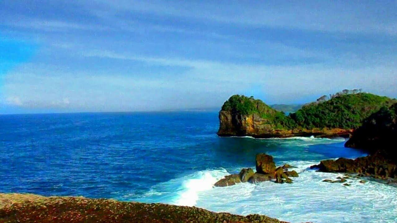 Indahnya Pantai Batu Bekung Kabupaten Malang Andy Pash Vlow Youtube