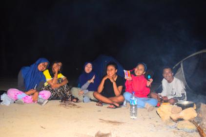 Jalan Camping Pantai Batu Bengkung Taka Journey Referensi Malang Raya
