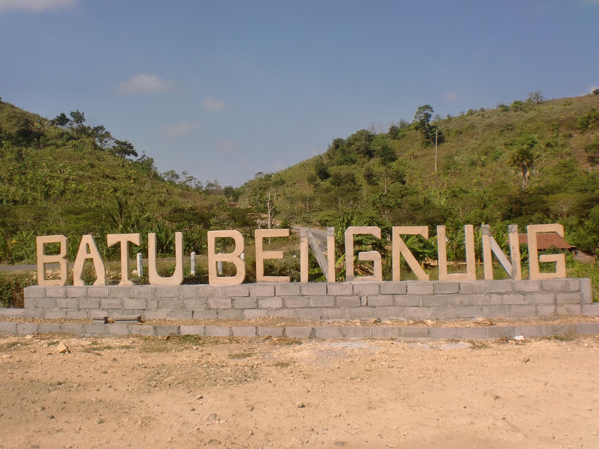 Keindahan Pantai Batu Bekung Malang Selatan Ayo Jalan Pintu Masuk
