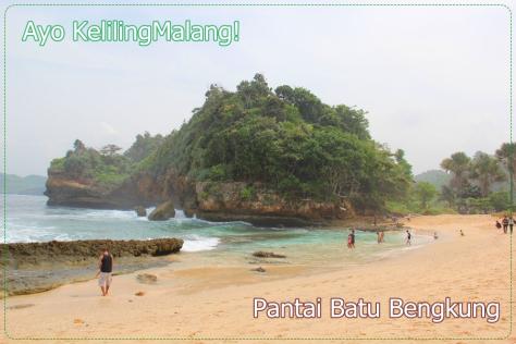 Keindahan Pantai Batu Bengkung Ayo Keliling Malang 3 Bekung Kab