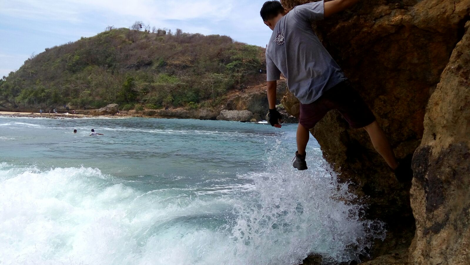 Pantai Batu Bengkung Keindahan Alam Malang Selatan Mega Pro Image