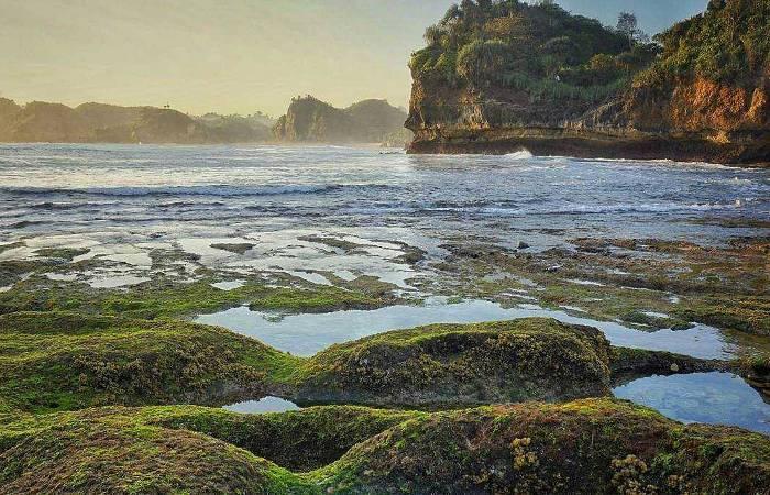 Pantai Batu Bengkung Malang Aktivitas Fasilitas Tiket Rute Maps Bekung