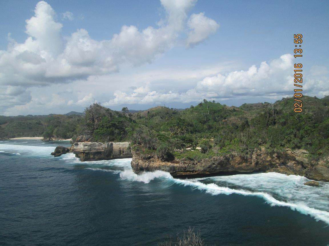Pantai Batu Bengkung Wisata Kab Malang Jawa Timur Youtube Bekung