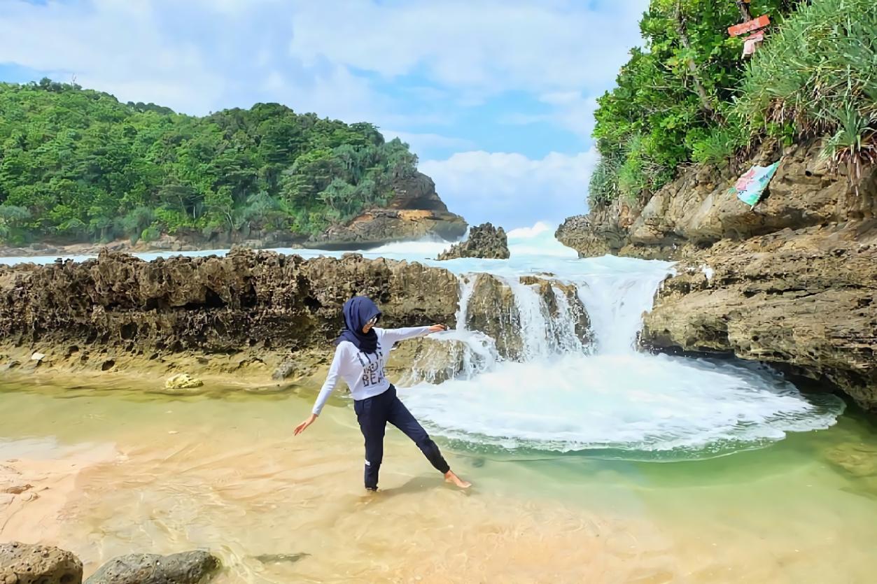 Pantai Batu Bengkung Wisata Sunset Indah Bekung Kab Malang