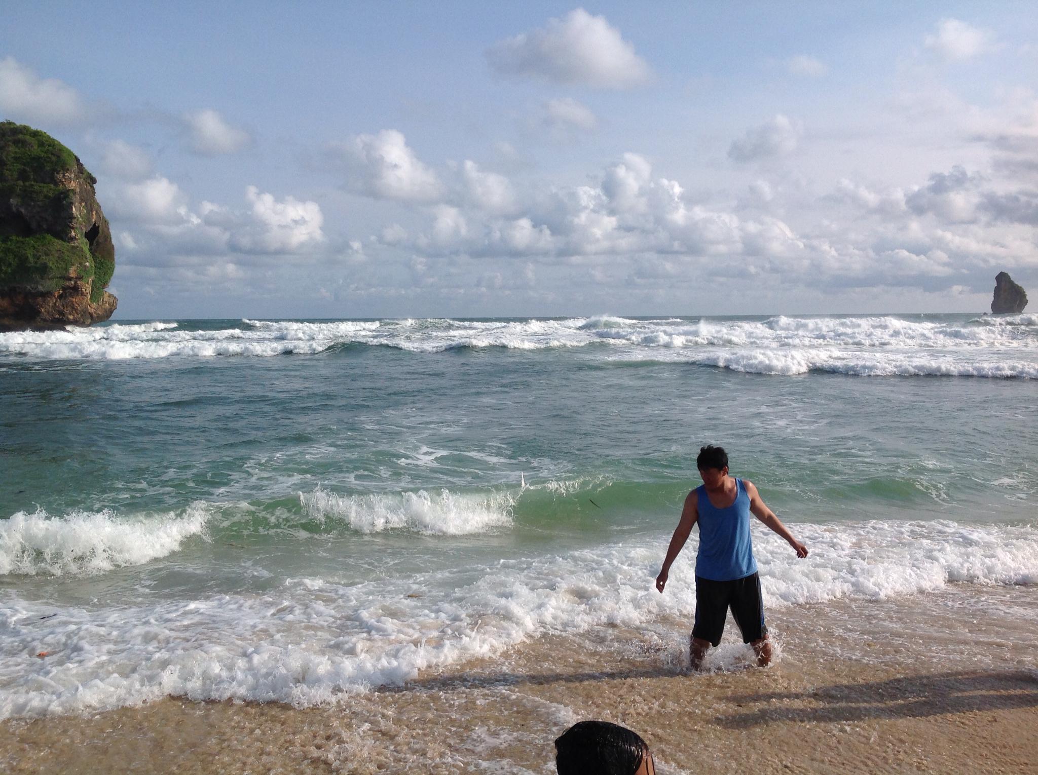 Chinese Cave Beach Pantai Goa Cina Malang Indonesia Kab