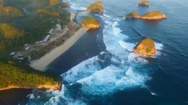Goa Cina Malang Jawa Timur Misteri Keindahannya Pantai Kab