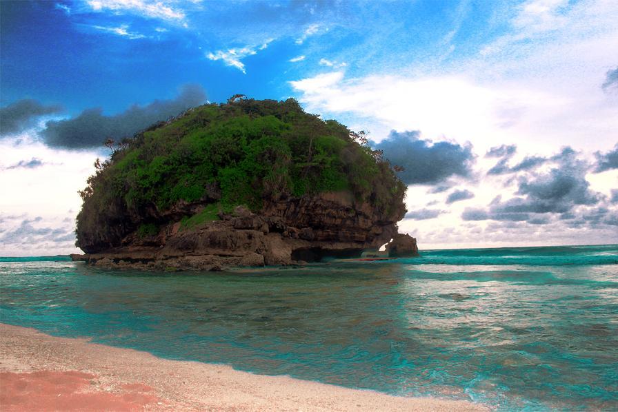 Infromasi Lengkap Pantai Goa China Terkini Cina Kab Malang