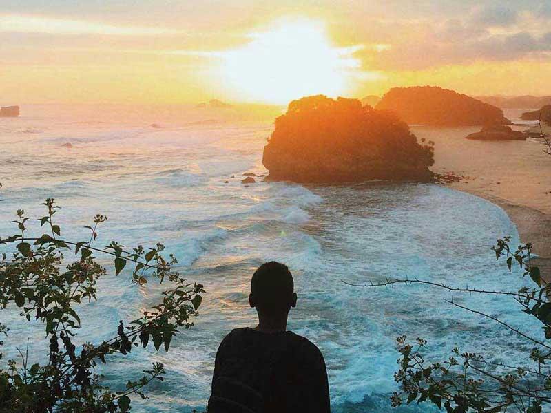 Kunjungi Yuk Pantai Goa Cina Malang Amazing Kab