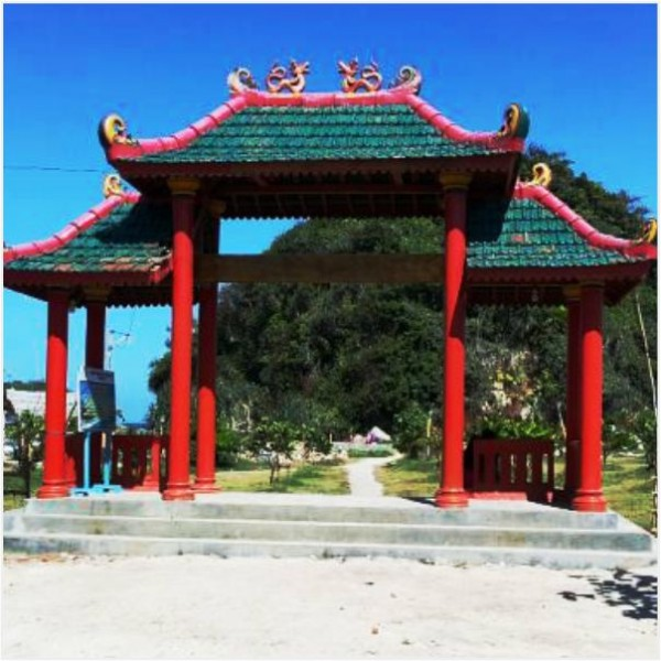 Pantai Balekambang Kabupaten Malang Panti Goa Cina Terletak Terdapat Konon