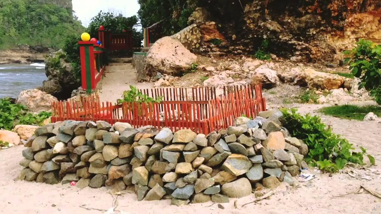 Pantai Goa China Kabupaten Malang Youtube Cina Kab