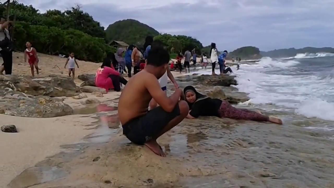 Pantai Goa Cina Kab Malang Jawa Timur Youtube