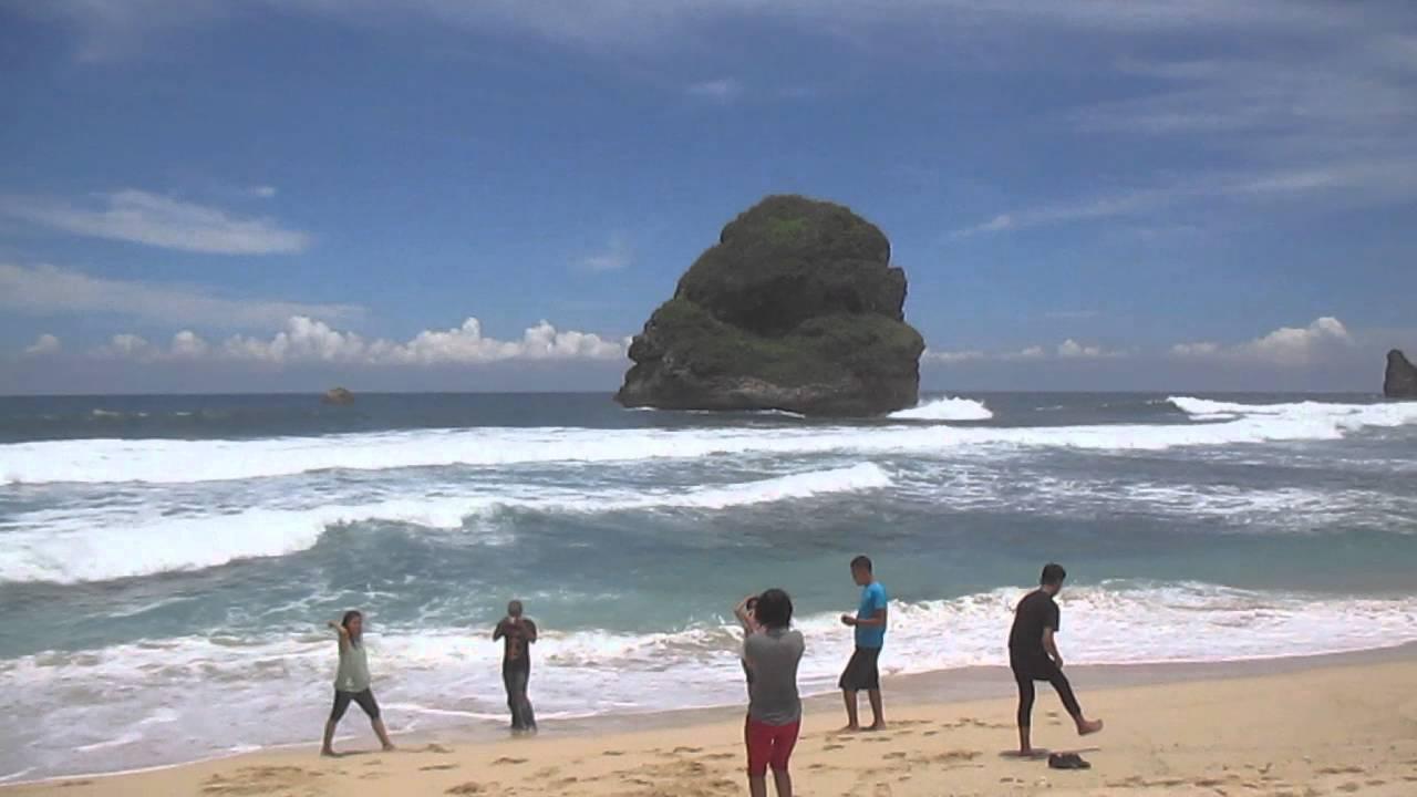 Pantai Goa Cina Kabupaten Malang Youtube Kab