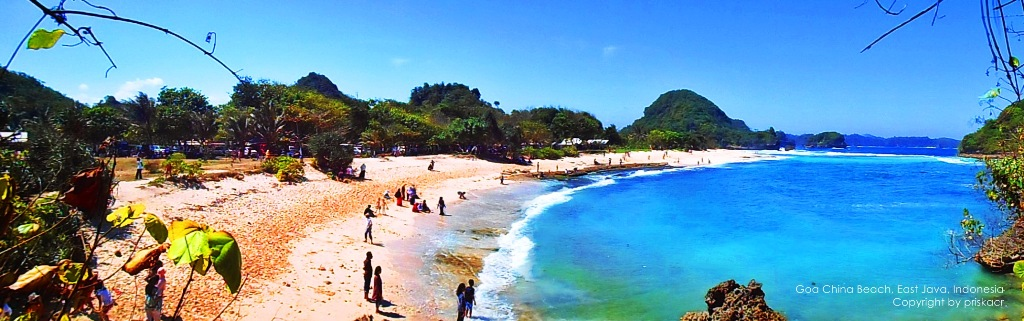Pantai Goa Cina Legenda Unik Menawan Malang Selatan Kab