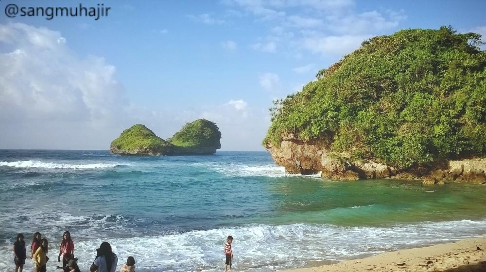 Pantai Goa Cina Menawan Malang Selatan Muhajir Waktu Terbaik Ya