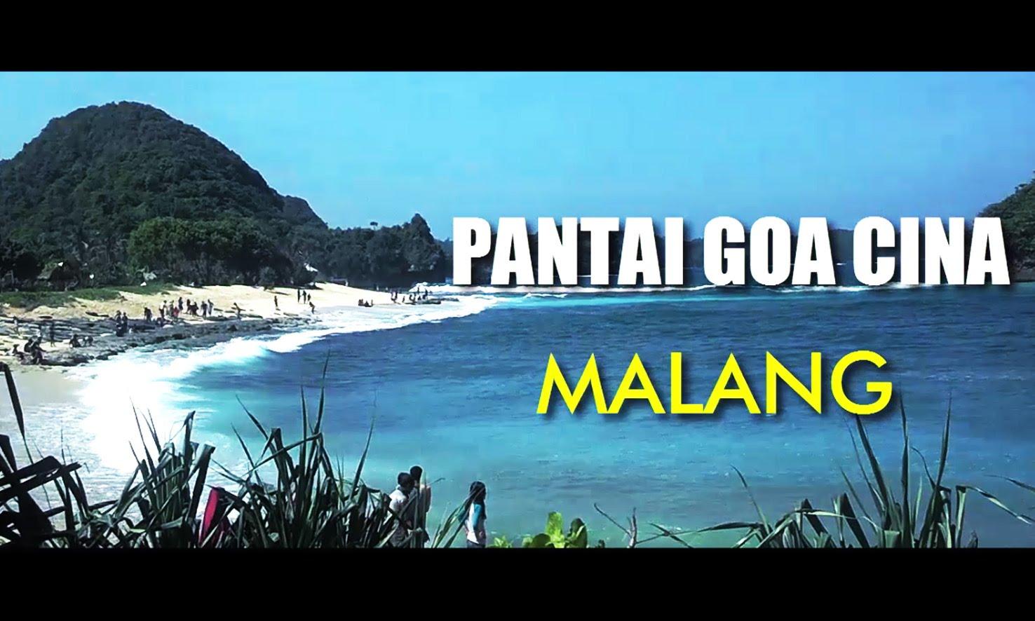 Pantai Goa Cina Tempat Wisata Malang Jawa Timur Youtube Kab
