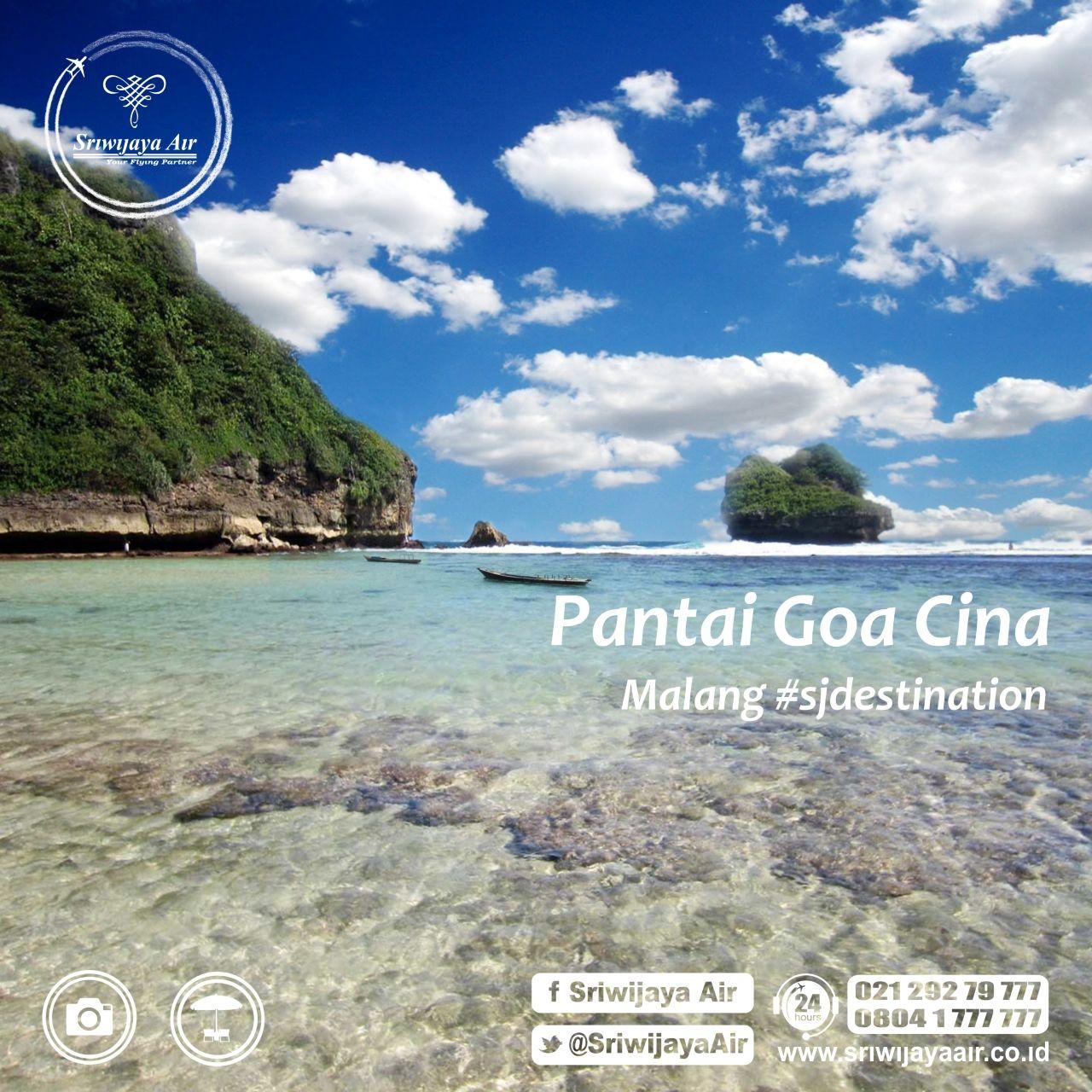 Pantai Goa Cina Terletak Desa Sitirejo Kec Sumbermanjing Wetan Kab