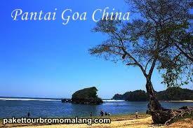 Pantai Goa Cina Wisata Eksotis Malang Selatan Paket Kab