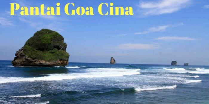 Pesona Pantai Goa Cina Wisata Malang Recommended Kab