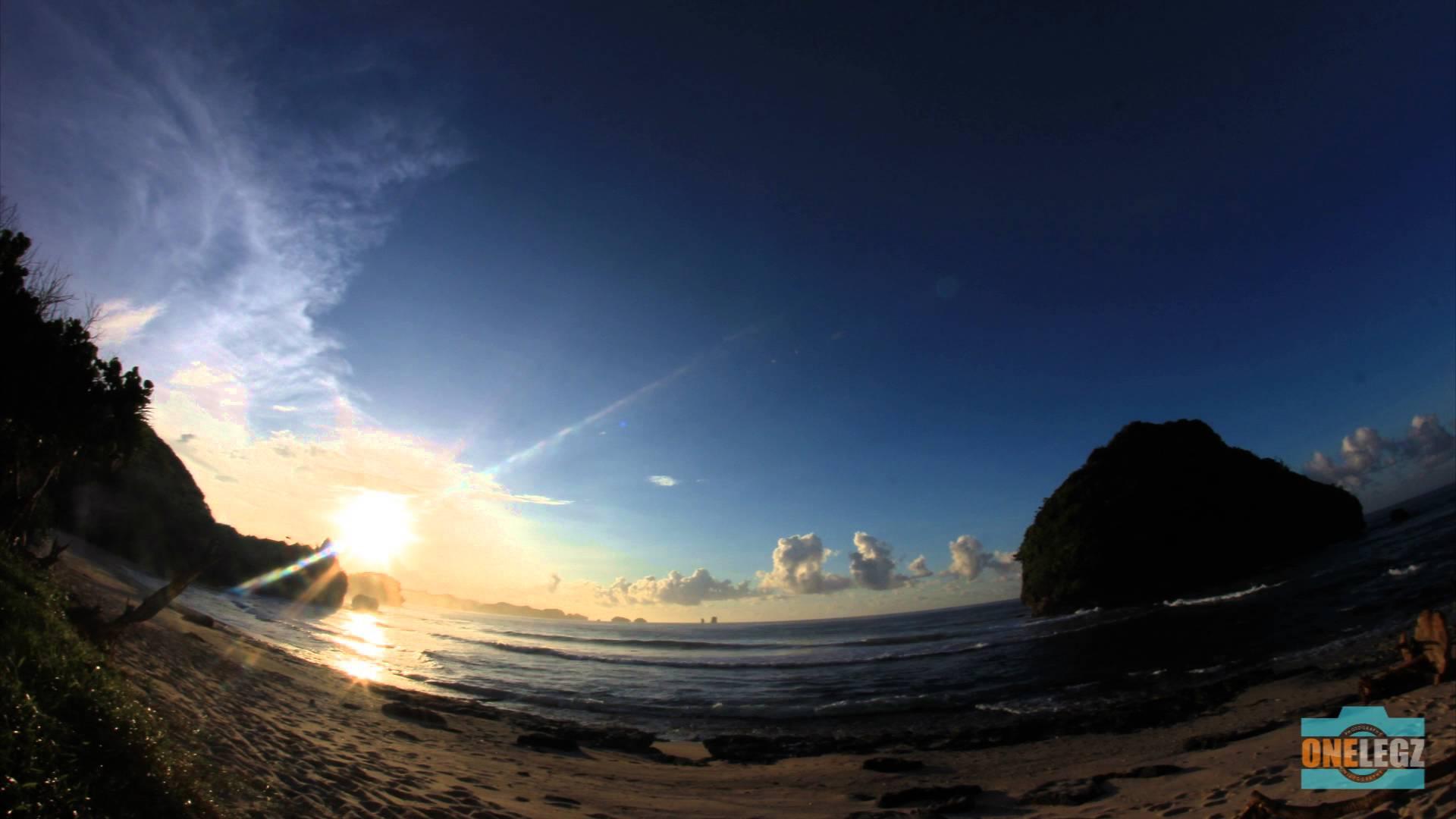 Timelapse Sunrise Sunset Milkyway Pantai Goa Cina Malang Youtube Kab