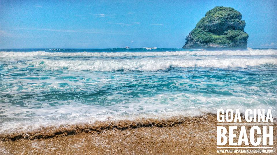 Wisata Malang Pantai Goa Cina Bromo Sisi Barat Kab