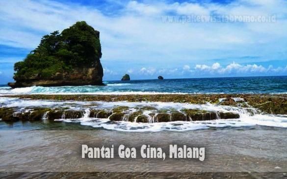 Wisata Pantai Goa Cina Malang Paket Bromo Batu Kab