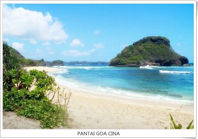 Wisata Pantai Goa Cina Malang Vita Tour Package Kab