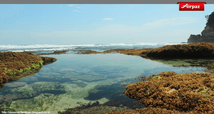 Cantiknya Pantai Jonggring Saloko Malang Airpaz Blog Foto Kab