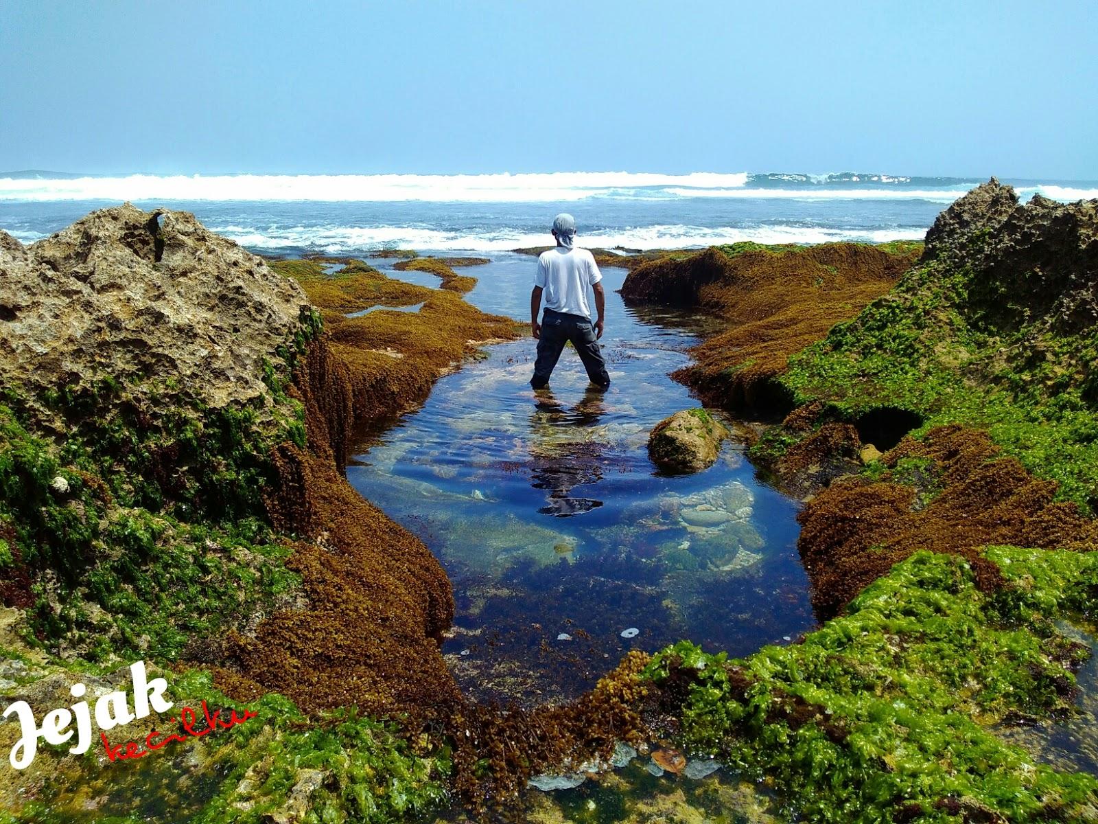 Jejak Kecilku Pantai Jonggring Saloko Malang Kab
