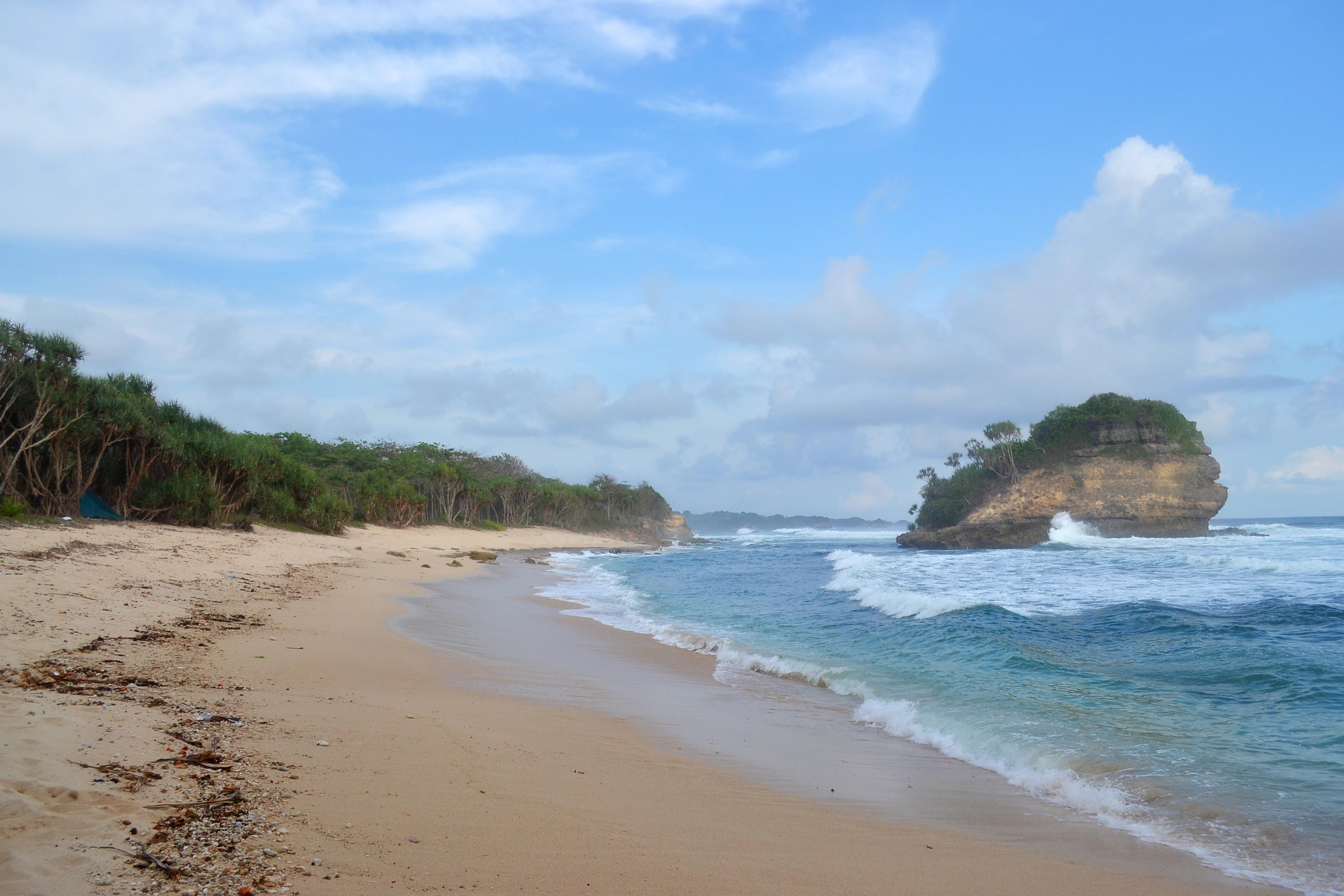 Jonggring Saloko Pantai 1001 Kesan Potensinya Terabaikan Map Dsc 0926