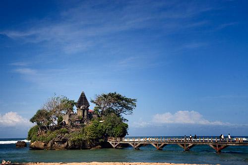 Pantai Jonggring Saloka Bolehtanya Saloko Kab Malang
