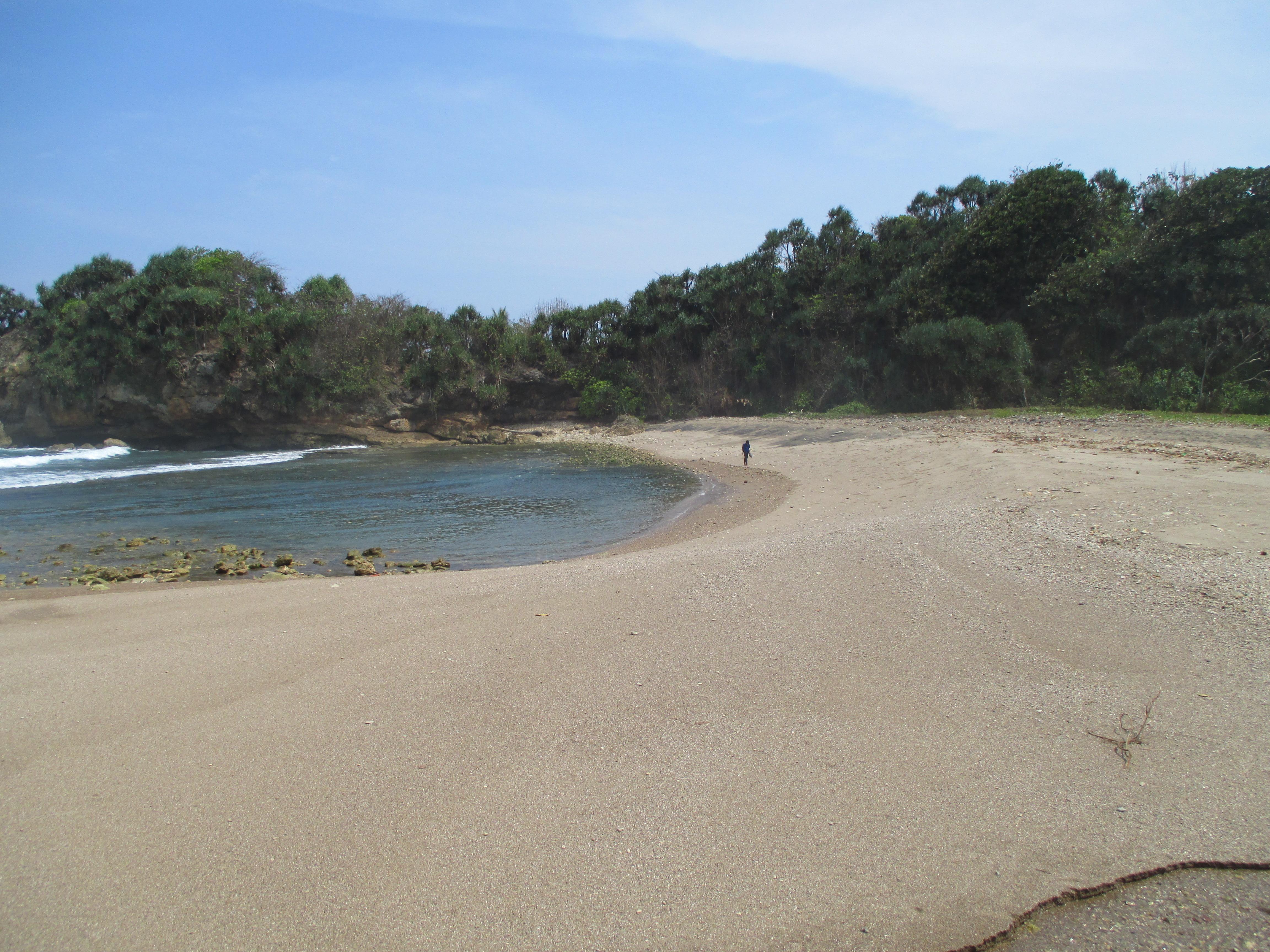 Pantai Jonggring Saloka Kim Smkm 6 Kota Malang Terletak Desa