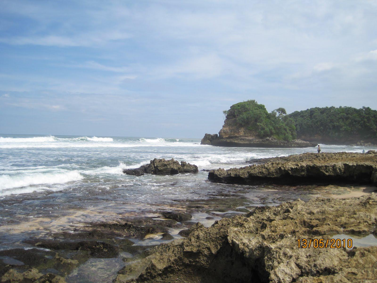 Pantai Jonggring Saloko Dhani911 Blog Cerita Pewayangan Kab Malang
