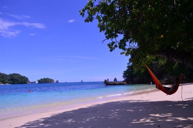 Wisata Enam Pantai Kabupaten Malang Eksotis Relatif Jonggring Saloko Desa
