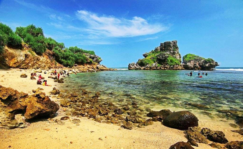 Daftar Lengkap 100 Wisata Pantai Malang Hotel Snorkeling Nglambor Jogja