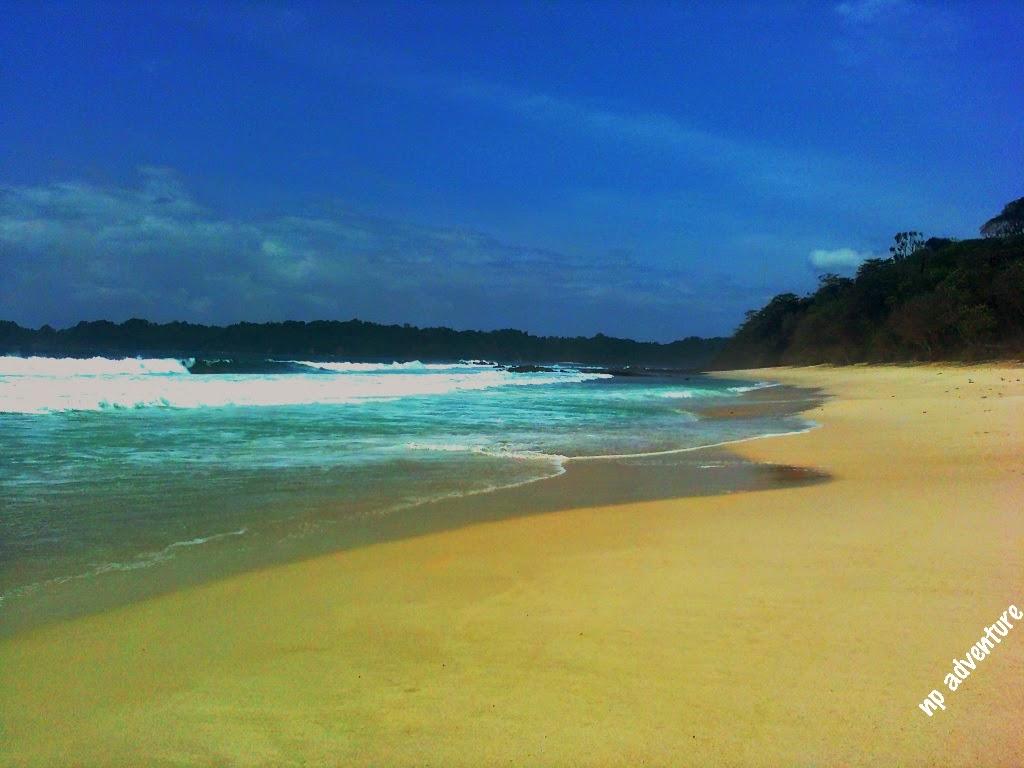 Jejak Kaki Pantai Sendiki Malang Kenal Nama Weden Terletak Desa