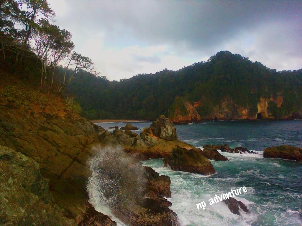 Jejak Kaki Pantai Weden Cilik Malang Kaliapus Kab