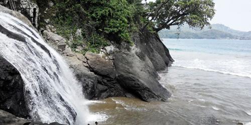Pantai Banyu Anjlok 98 Indah Wilayah Malang Kaliapus Kab