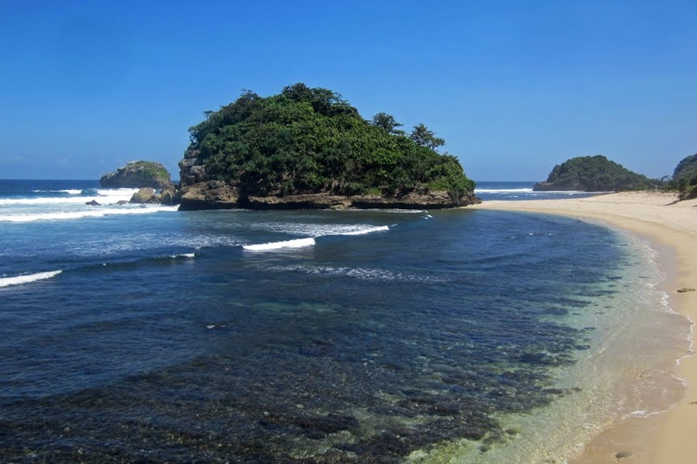 Pantai Kedung Celeng Wisata Malang Jadi Punya Hobi Snorkeling Langsung
