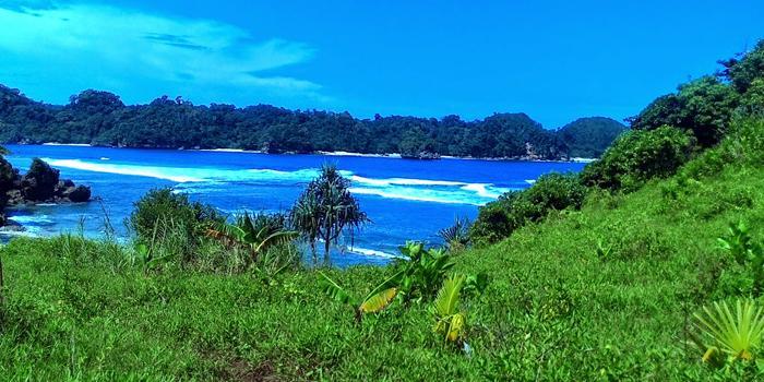 Pantai Kedung Celeng Wisata Malang Salah Satu Selatan Hmmm Mungkin